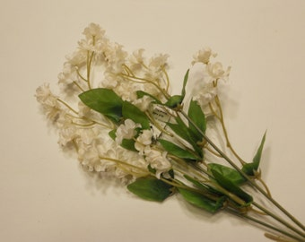 silk baby's breath flower stem, off white (DD)