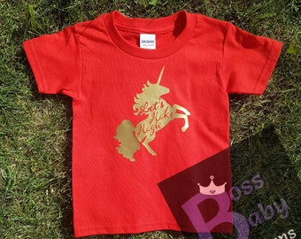 Let's Make Magic Unicorn Toddler Tee