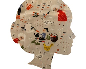 Gardening /Lucy and Mabs Reusable pad or pantyliner / Made to Order