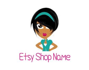 Shop Logo - Shop Icon - Etsy Branding - Etsy Store Branding - Etsy Store Graphics - Etsy Shop Icon - Nina - 2