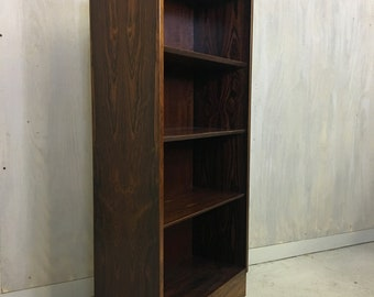 Danish Rosewood Bookcase by Poul Hundevad