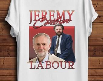 Jeremy Corbyn T Shirt Funny 90s Vintage Style