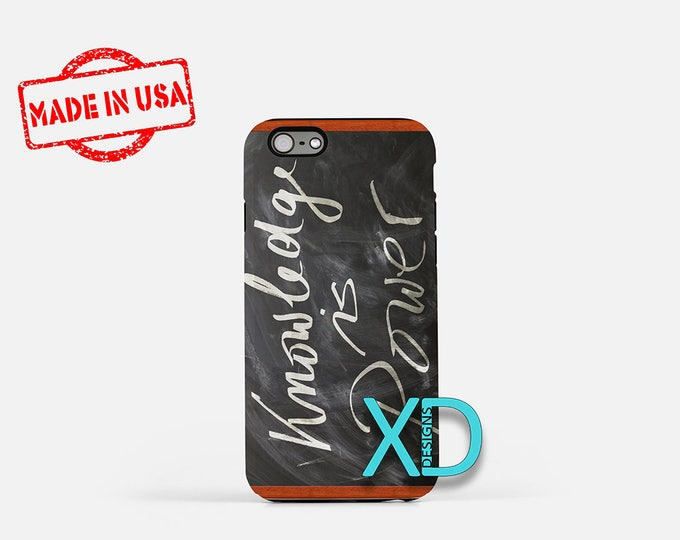 Chalkboard iPhone Case, Quote iPhone Case, Chalkboard iPhone 8 Case, iPhone 6s Case, iPhone 7 Case, Phone Case, iPhone X Case, SE Case