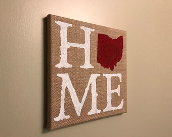 Ohio Canvas Print - HOME - 10x10