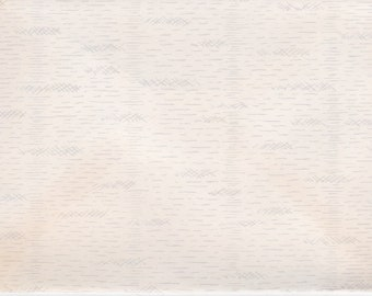 Vintage 1950s envelopes that resemble birch bark