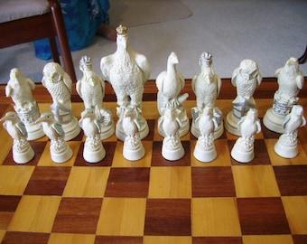 Birds Theme Chess Set