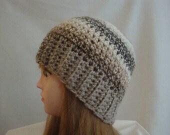 Beanie, Winter Beanie, Winter Hat, Brown Winter Beanie, Brown Winter Hat, Tan Winter Hat, Tan Winter Beanie, Womens Winter Hat, Winter Hat