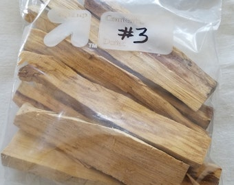 Bulk Palo Santo 1/2LB - 8OZ Palo Santo Sticks #3 Incense Smudge