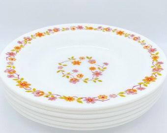 Set of 6 soup plates Arcopal Scania