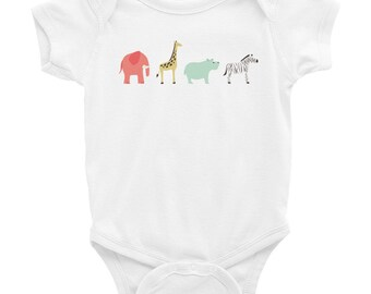 Let's Go to the Zoo - Infant Bodysuit