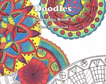 Book: Weasie's World of Doodles, Colouring Book 2