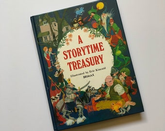 1982 A Storytime Treasury Hardcover Book