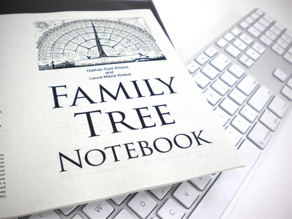 Family Tree Notebook Ebook Pdf Fill In Blank Template Gifts