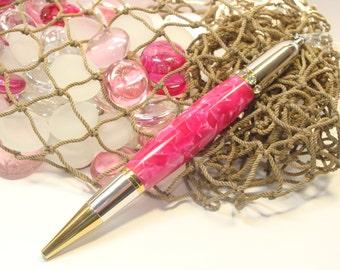 Pink Crush Swarovski Crystal Diva Twist Pen