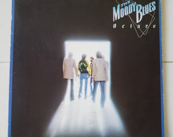 Vinyl: The Moody Blues, Octave, Free Shipping