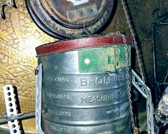 Mr.Bromwell Flour Sifter Steampunk Boy  Assemblage,  Found Objects and Junk Parts