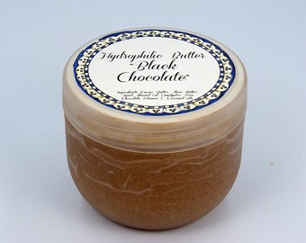 "Hydrophilic Butter ""Black Chocolate"", hydrophilic face  cleanser, hydrophilic face wash, face wash with raw chocolate"