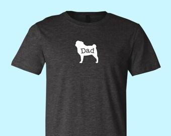 "Pug ""DAD"", Unisex SHIRT"
