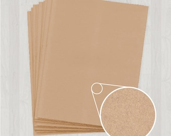 10 Sheets of Cover Stock - Light Brown and Gold - DIY Invitations - Paper for Weddings & Other Events