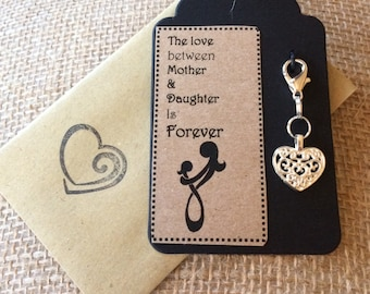 Clip on Charm - Mother Gift