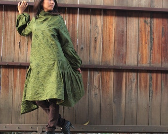 Asymmetric Knee length dress ...(M-XL)
