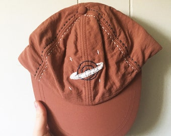 Out of this World - Hand Embroidered Ball Cap
