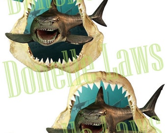 Shark Teeth Print N cut file