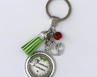 Love MOM keychain