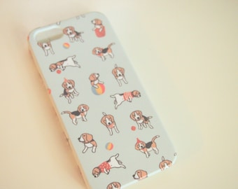 Baby Beagle Print Phone Case