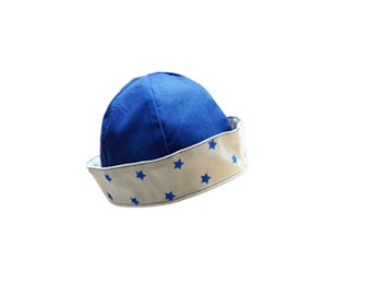 BOD style US navy 6-9 months / baby Hat / birthday gift