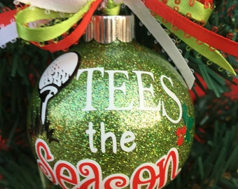 Gift For Grandpa, Golf Gifts, Personalized Golf, Christmas Gift For Dad, Gift For Uncle, Golf Ornament, Husband Golf Gift, Gift For Golfer
