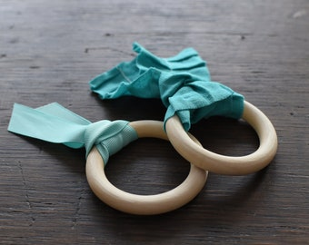 Natural Organic Baby Teething Rings