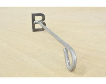 Letter B Wood Branding Iron, Steak Brand - 11268-the leather guy mn