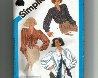 Simplicity Misses' Blouse In Two Lengths Pattern 6599