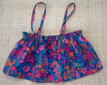 short top for the beach in liberty