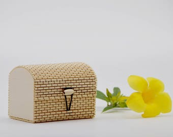 Small Storage Box with Lid, Jewelry Box, Cosmetic Box, Name Card Box, Multi Purpose Keeper