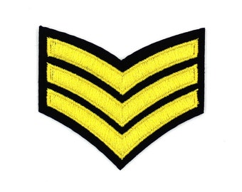 Badge Patch Fashion Patch Military Patch Sew On / Iron On DIY Patch Embroidered Applique 6x4.2cm - RP630