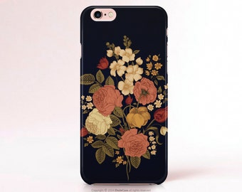 samsung s6 floral phone case