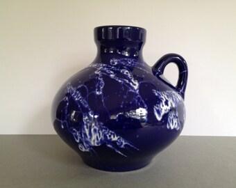 Marei Keramik 4302 handled Vase Vintage Mid Century  from the1970's West Germany Ceramic.