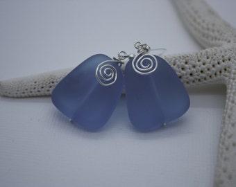 Purple Sea Glass Earrings Seaglass Earrings Sea Glass Jewelry Beach Glass Earrings Beach Glass Jewelry Beach Jewelry Seaglass Jewelry 087