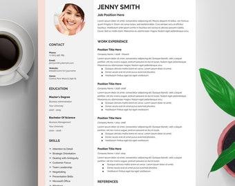 Resume Google Docs, Resume Template Google Docs, Creative Resume Template, Professional Resume, CV Template, Cover Letter, Instant Download