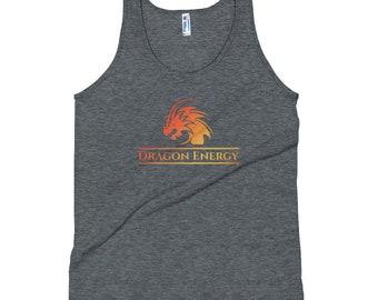 Dragon Energy Fire Unisex Trump Kanye Yoga Gym Tank Top