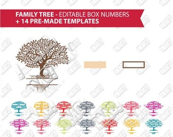Family tree template etsy family tree templates editable name box numbers svg dxf eps jpeg layered cutting files saigontimesfo