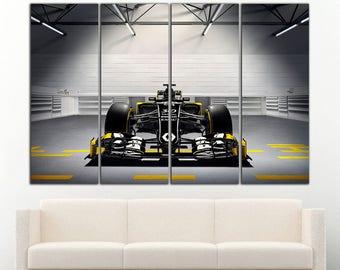 Formula 1 Wall Art Formula 1 Canvas Renault Print Formula 1 Art Formula 1 Poster Formula 1 car Formula 1 Photo Formula 1 Home Decor