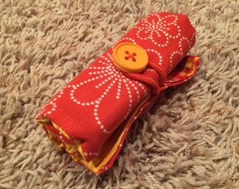Crayon Rolls (8-pk Jumbo) with Button Closure / Personalize it! - READY TO SHIP