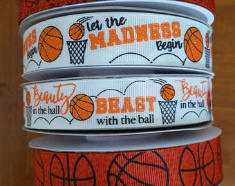 Basketball theme Ribbon