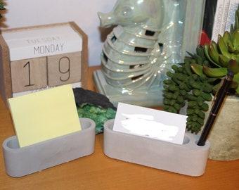 Concrete Business Card organizer