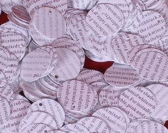 100 sequins PRINTED WORDS/KBRS109