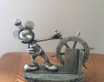 mickey mouse with a ships wheel in Wonder