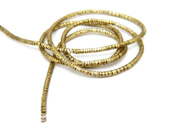 Pale gold bright french wire/purl/gimp